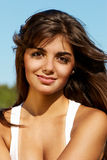 The beautiful Argentinian girl Royalty Free Stock Photo