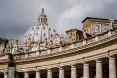 Beautiful arhitectural details from Saint Peter's Basilica,Italy,Rome Royalty Free Stock Photos