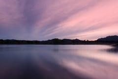Beautiful Arizona Lake at Sunset Stock Photography