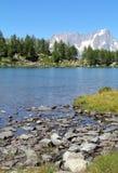 Beautiful Arpy lake Stock Photos