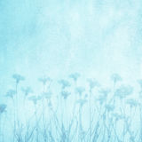 Beautiful Art decorative floral blue background royalty free stock images