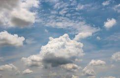 The Beautiful of Art`s Cloud Stock Photo