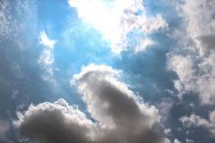 The Beautiful of Art`s Cloud Royalty Free Stock Photos
