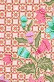 Beautiful of art Thai Batik Pattern royalty free stock images