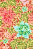 Beautiful of art Thai Batik Pattern royalty free stock image