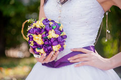 Beautiful of artificial flowers Stock Photos
