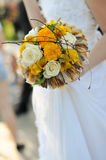 Beautiful of artificial flowers Stock Images