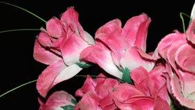 Beautiful artificial roses Stock Photos