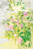 Beautiful, artistic, floral, Summer background Royalty Free Stock Images