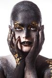 Beautiful, artistic makeup Royalty Free Stock Photos