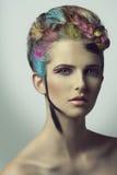Beautiful artistic shoot of girl Stock Photos