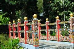 Beautiful artwork in royal park rajapruek of Thailand. Stock Images