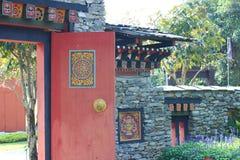 Beautiful artwork in royal park rajapruek of Thailand. Royalty Free Stock Image