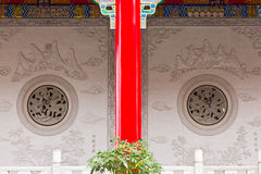Beautiful artwork on the wall of a temple Royalty Free Stock Images
