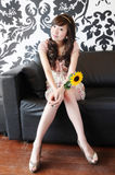 Beautiful asAsian girl Royalty Free Stock Image