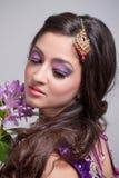 Beautiful asian bride Stock Images