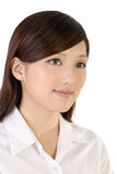 Beautiful Asian business woman Stock Images