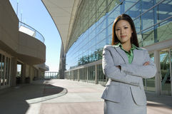Beautiful Asian Business Woman Stock Image