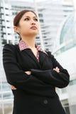Beautiful Asian Business Woman Stock Photo