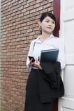 Beautiful Asian business woman portrait. Stock Images