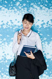 Beautiful Asian business woman portrait. Stock Photos