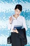 Beautiful Asian business woman portrait. Royalty Free Stock Photo