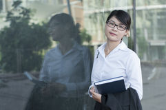 Beautiful Asian business woman. Stock Photography