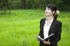 Beautiful Asian business woman. Royalty Free Stock Image