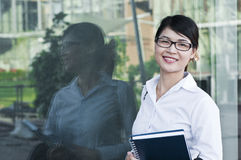 Beautiful Asian business woman. Stock Images