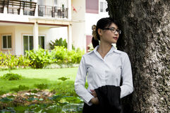 Beautiful Asian business woman. Royalty Free Stock Photography