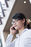 Beautiful Asian business woman. Royalty Free Stock Photo