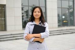 Beautiful asian businesswoman Royalty Free Stock Photos