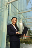 Beautiful asian businesswoman Royalty Free Stock Images