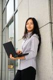 Beautiful asian businesswoman Stock Photography