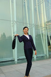 Beautiful asian businesswoman Royalty Free Stock Photography