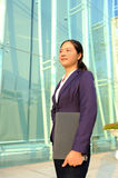 Beautiful asian businesswoman Royalty Free Stock Photos