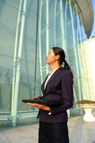 Beautiful asian businesswoman Stock Images