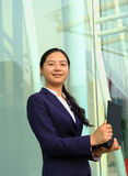 Beautiful asian businesswoman Stock Photos