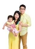 Beautiful asian family Royalty Free Stock Photography