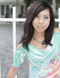 Beautiful Asian female Stock Photo
