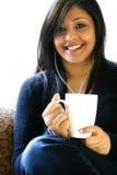 Beautiful Asian female Stock Photography