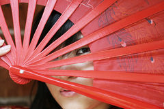 Beautiful Asian girl Stock Photography