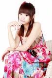 Beautiful asian girl Stock Images