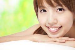 Beautiful asian girl Stock Photography