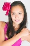 The beautiful Asian girl Royalty Free Stock Image