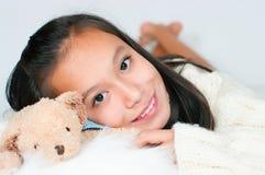 The beautiful Asian girl Stock Photo