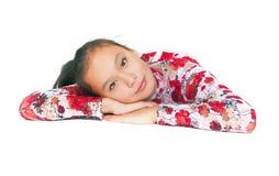 The beautiful Asian girl Stock Image