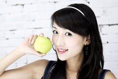 A beautiful Asian girl. stock image