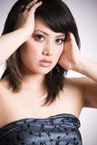 Beautiful asian girl Royalty Free Stock Photos