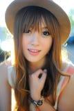 Beautiful asian girl Royalty Free Stock Photos